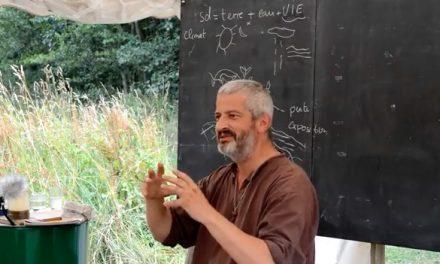 HERVE COVES, Ingénieur agricole, présente le BIG BANG, avec une emphase sur la formation des sols