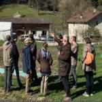 Cours de l'agriculture de la fécondité d'artisanatura à Epinassey (Valais – Suisse) à la fraternité Eucharistein les 8 et 9 avril 2019